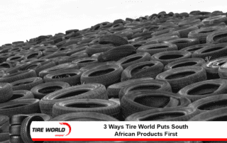 a pile of tires
